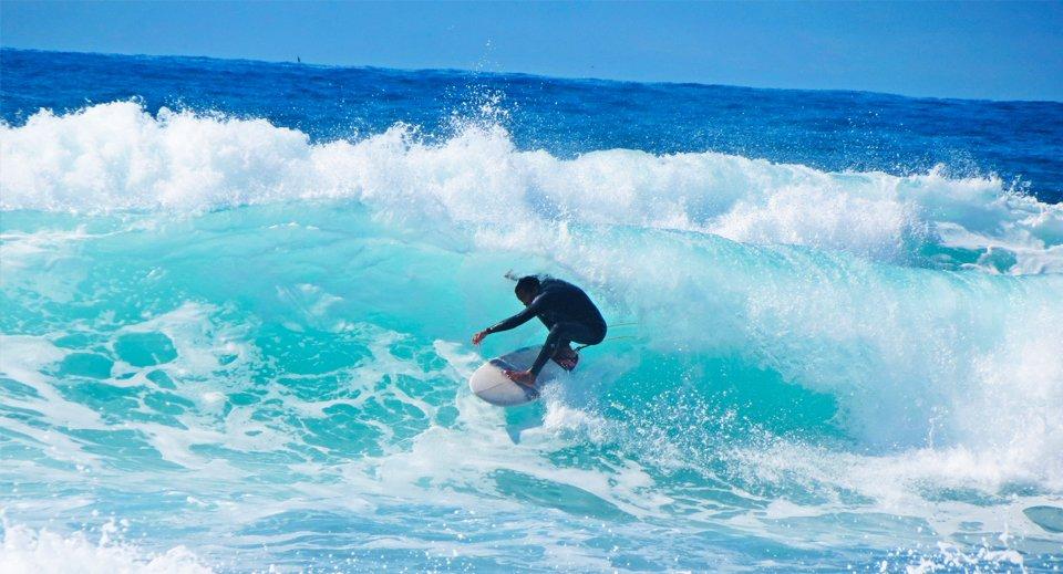 surfe na Praia Mole - Floripa