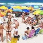 Praia brava - verão