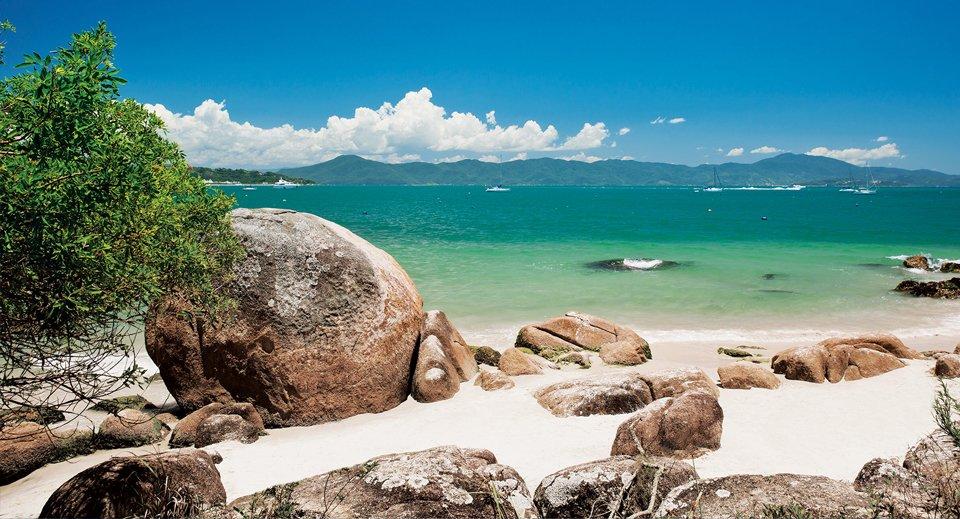 melhores praias de floripa