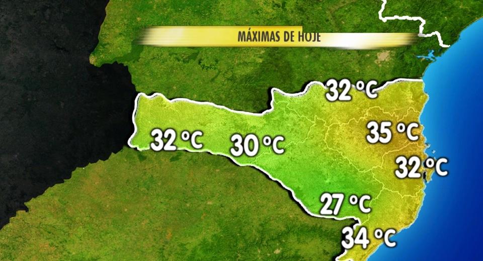 Previsão do tempo em Florianópolis