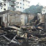 incêndio destrói bar em florianópolis