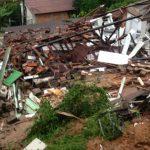 casa desmoronou em florianópolis