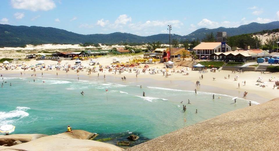 Praia da Joaquina em Floripa