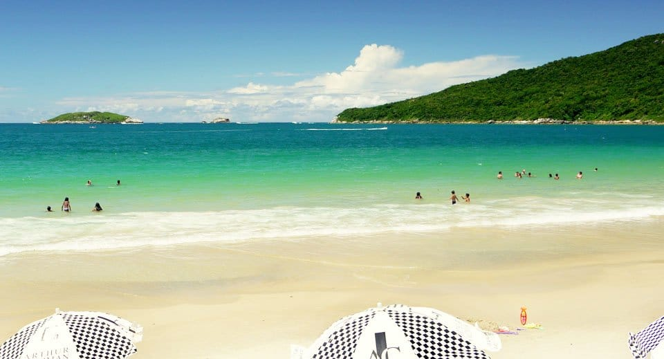 melhor destino de praia do brasil