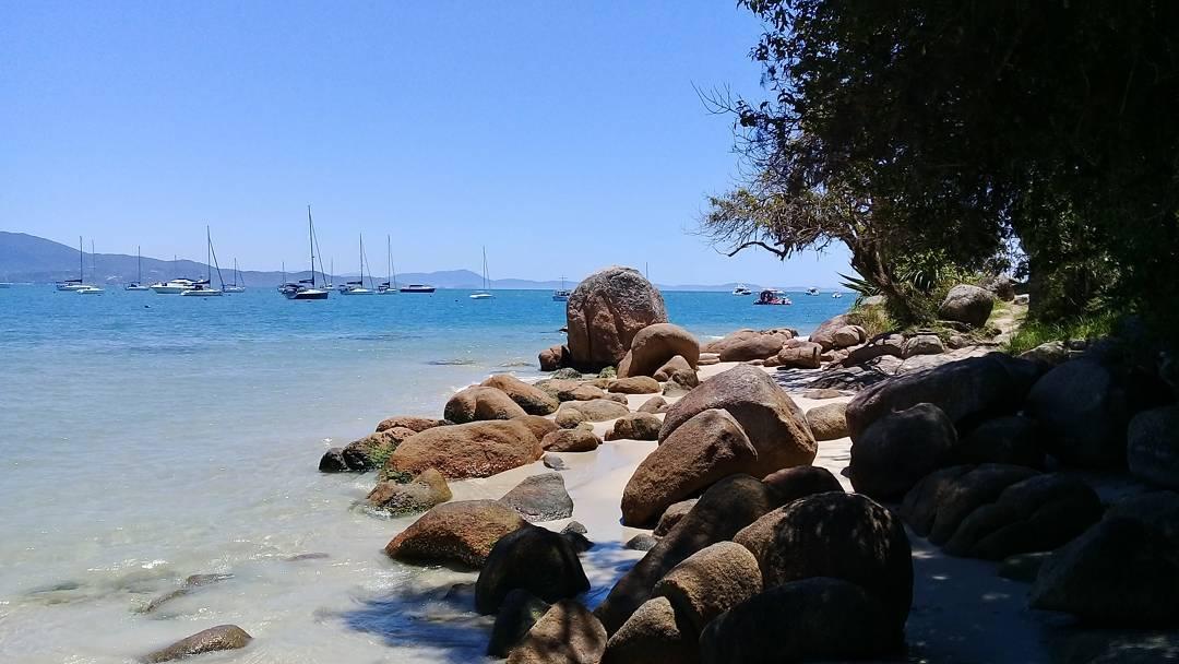 praia de Canajurê em Florianópolis