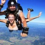 salto de paraquedas em Florianópolis