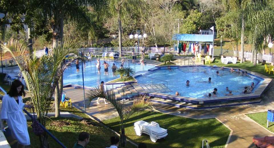 Águas termais em Santa Catairna