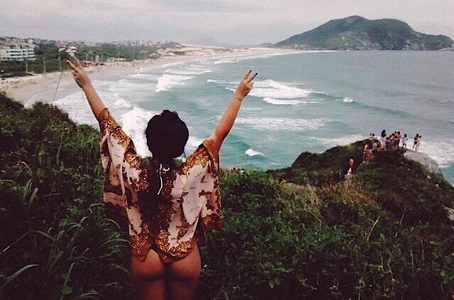 Trilha Morro das Aranhas Florianópolis