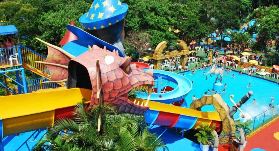 parque aquático em Florianópolis