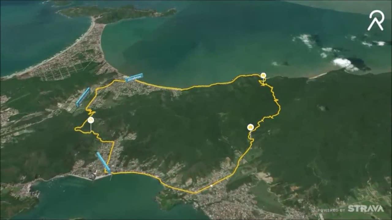 trilha costa de zimbros
