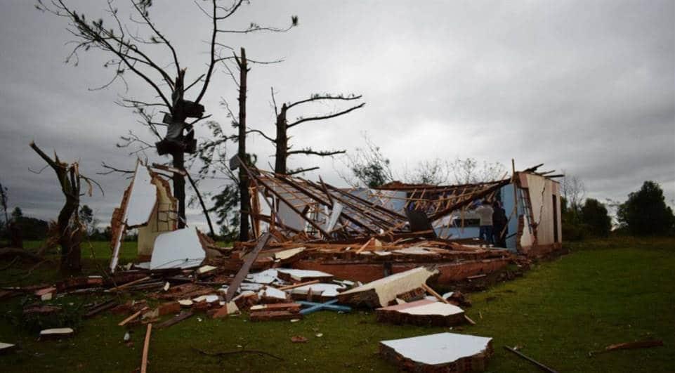 tornado no rio grande do sul