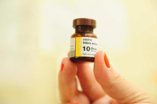 vacinação febre amarela em Santa Catarina