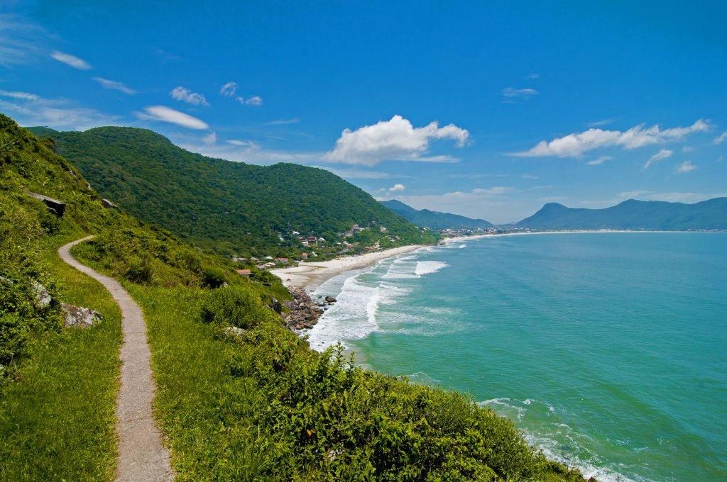 praia da solidão em Florianópolis