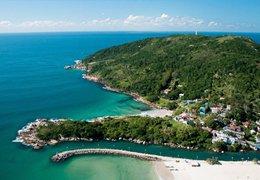 Opções de hospedagem no leste da ilha em Floripa
