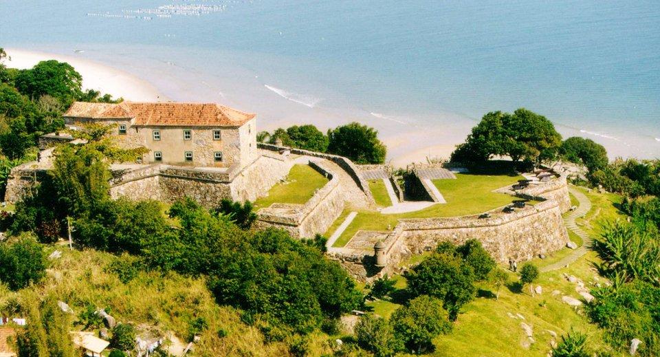Fortaleza de São José da Ponta Grossa - Vista aérea