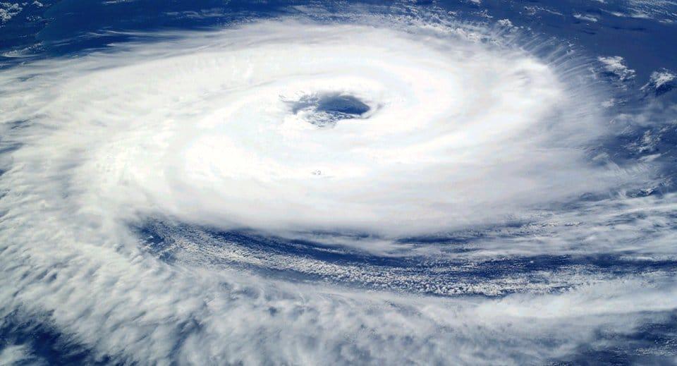 Ciclone no Sul do Brasil
