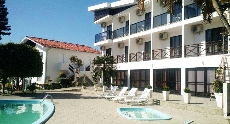 Gentil hotel na praia dos ingleses em Florianópolis