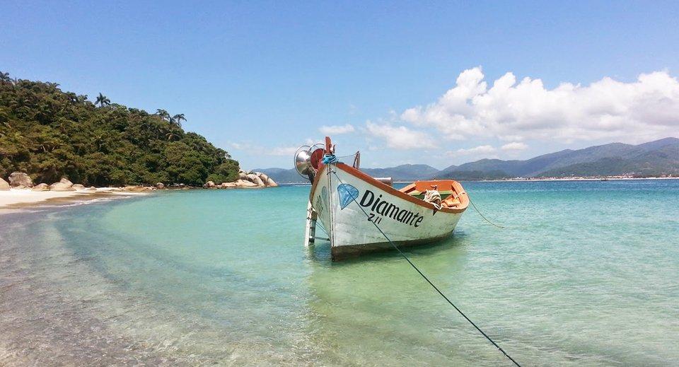 Ilha do Campeche em Floripa