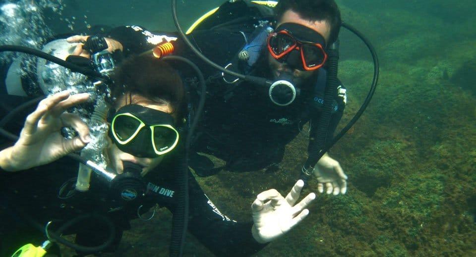 mergulho em Florianópolis