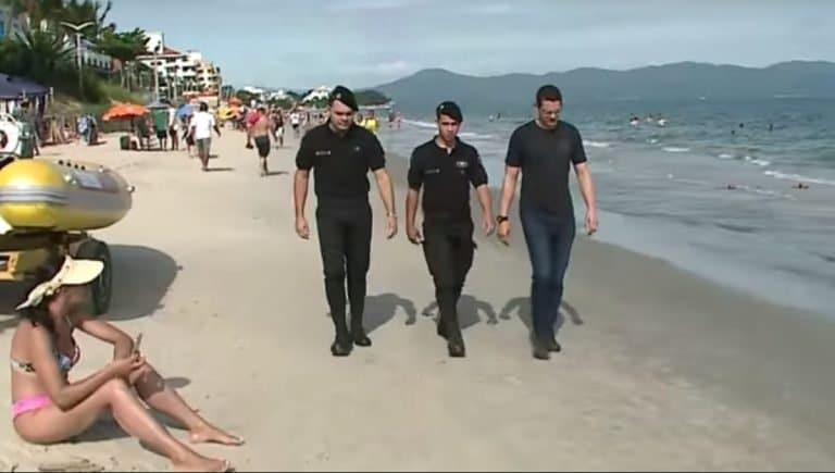 policiais argentinos em santa catarina