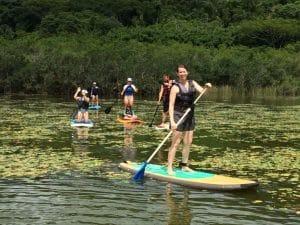 Passeio Standup Paddle no rio