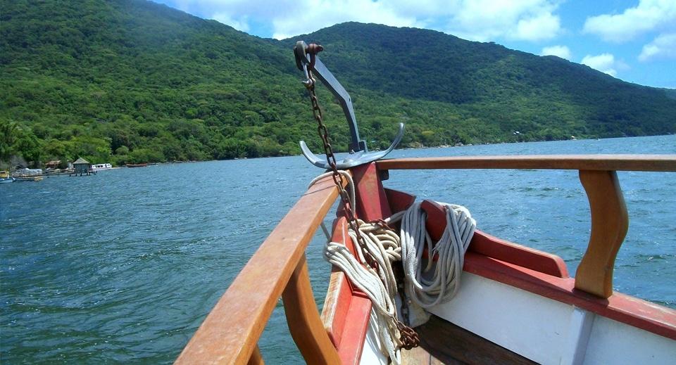 Passeio de barco lagoa da conceição