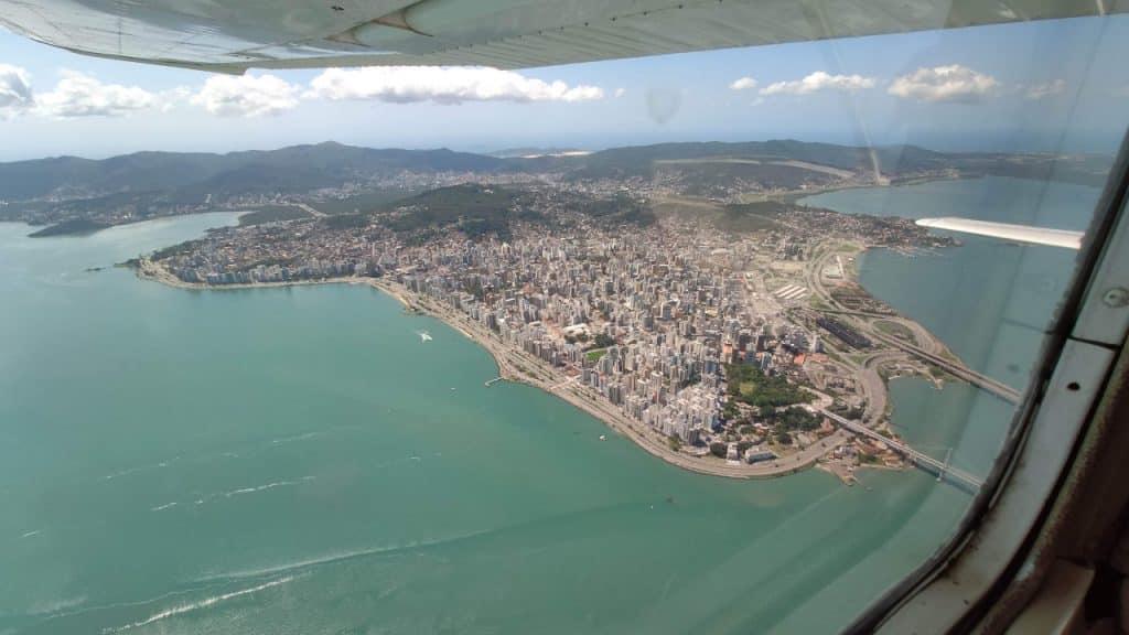 Voo Panoramico de Avião Florianópolis